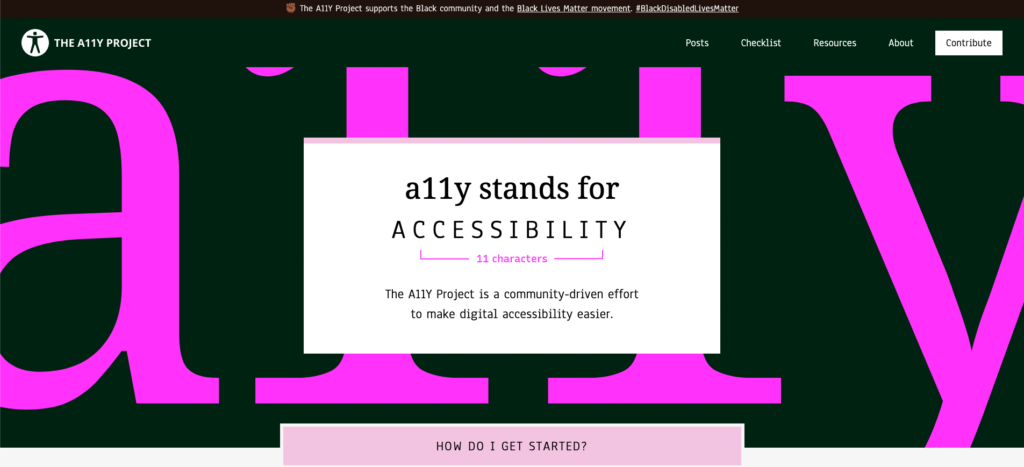 Web Accessibility with A11Y Checker and Testing Tool