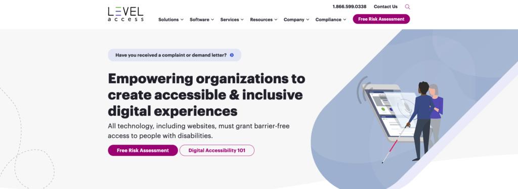 Level Access WebAccessibility Tool