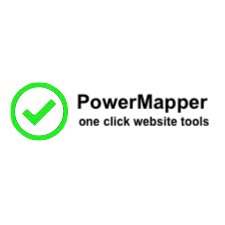 PowerMapper strumenti di un click
