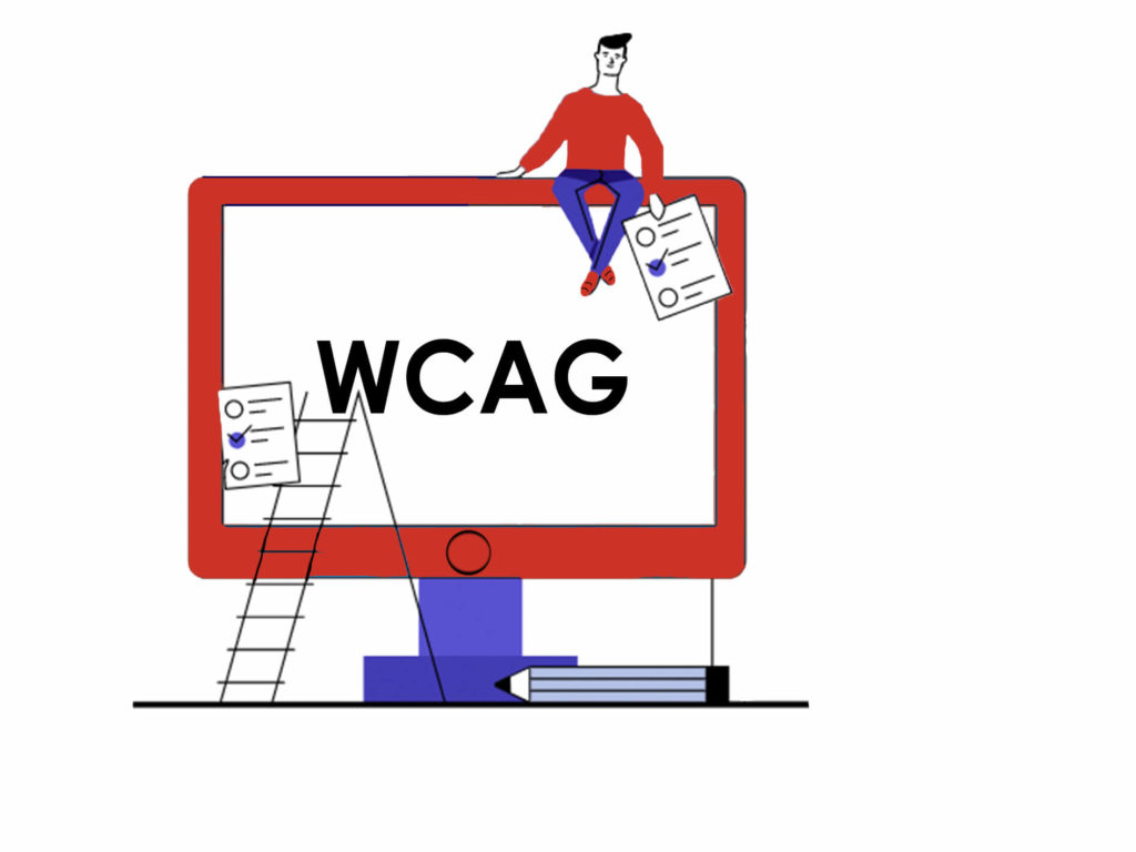 Website WCAG requirements illustration